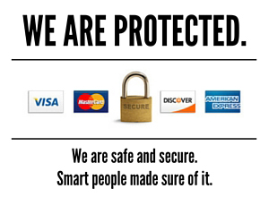 WE ARE PROTECTED.